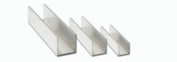 Alum nio perfil interinox - Perfil de aluminio en u ...